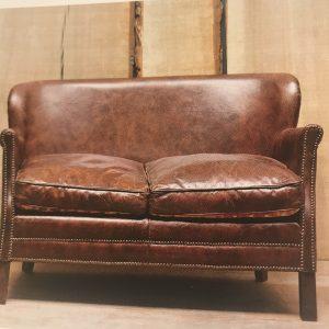 Canapé «Turner» cuir assise réversible dispo sur commande au 06.78.73.29.73