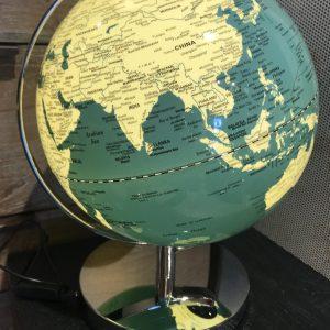 Globe led vert