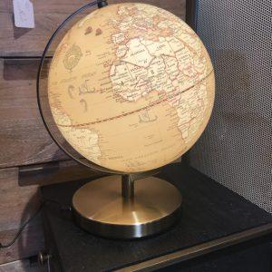 Globe led marron