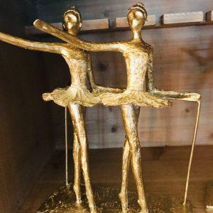Double danseuses dorées